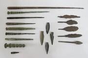 کشف سلاحهایی با قدمت بیش از ۲ هزار سالدر زنجان
