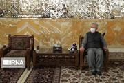 عکس | وزیر خارجه پاکستان در مشهد