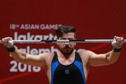 وزنهبرداری قهرمانی آسیا | طلای رستمی رنگ المپیک نداشت | میری پنجم شد