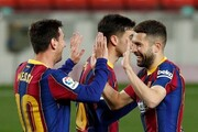 بارسلونا ۵ - ختافه ۲ | ادامه تعقیب و گریز ۳ تیم مدعی در لالیگا