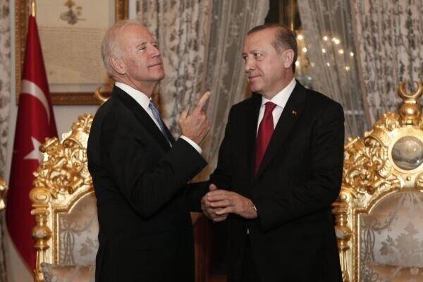 اردوغان و بایدن