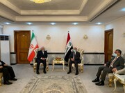 جزئیاتنشست خبری ظریف با فواد حسین   تشکر ظریف از تلاشهای عراق