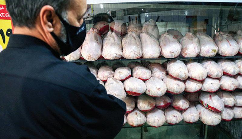 مرغ در بازار چند؟