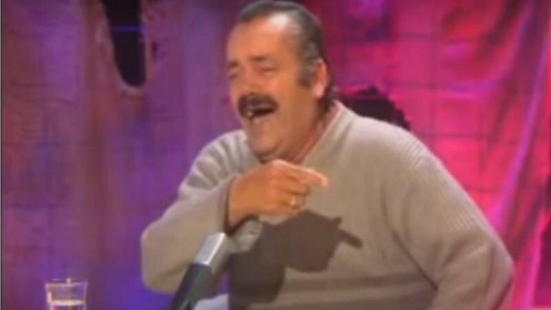 مرد خندان اسپانیایی