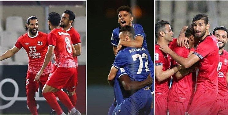 لیگ قهرمانان آسیا   پرسپولیس حریف استقلال شد   آبیها و تراکتور رقیب عربستانی ها شدند