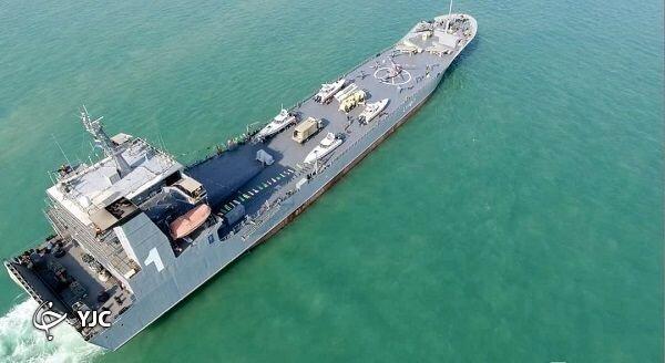تصاویر |  این شناور منحصر به فرد ایرانی مقابل کشتی جنگی آمریکایی ایستاد | نیروی دریایی ایران بر لبه تکنولوژی جهان