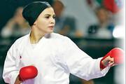 سلام دختر ۲۲ سالهکاراته به المپیک