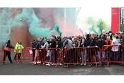 تصاویر | خشم هوادارانمنچستریونایتد و هجوم به داخل ورزشگاه اولدترافورد