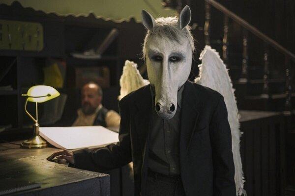 اسب سفید بالدار