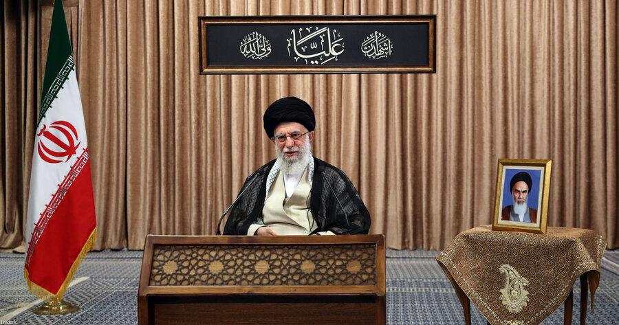 متن کامل سخنرانی تلویزیونی رهبر انقلاب خطاب به ملت ایران