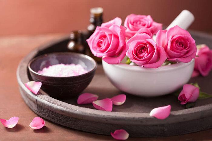 گل سرخ - گل محمدی
