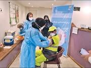 آمار واکسیناسیون پاکبانان | ادامه تزریق واکسن به پاکبانان ایرانی و غیرایرانی در مناطق مختلف شهرداری
