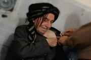 پیرمرد ۱۲۰ ساله سقزی واکسن کرونا زد