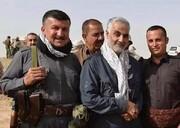 ویدئویی دیده نشده از سفر سردار سلیمانی به کردستان عراقو دیدار با بارزانی