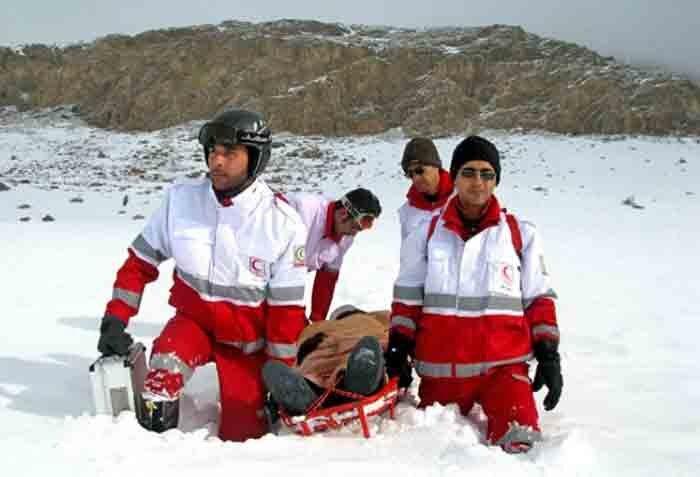 عملیات نجات در کوههای شمیران