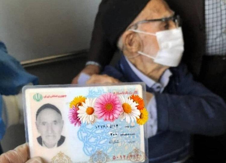 شهروند ۱۲۴ ساله اهل شازند