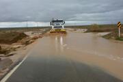 سیلاب به ۶۲۰ کیلومتر از راههای خراسان جنوبی خسارت زد