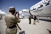 ویدئو | پرواز هواپیمای ۱۲۰ میلیون دلاری قذافی پس از ۷ سال