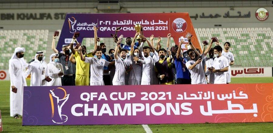 عکس   دومین جام رضاییان با السیلیه در قطر