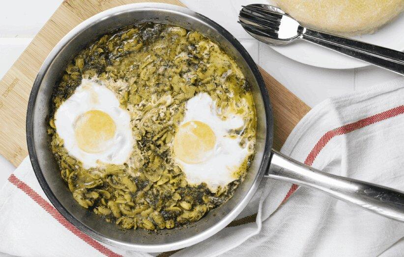Baghali ghatogh - باقالاقاتق - باقالی قاتق - غذای گیلانی - آشپزی