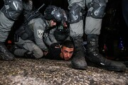 تصاویر | جنایات رژیم صهیونیستی در منطقه الشیخ جراح