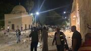 ایران حمله صهیونیست ها به مسجدالاقصی را محکوم کرد