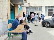 مردم در صف واکسن کرونا | در برخی مراکز سند خانه میخواهند!