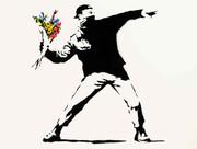 نقاشی بنکسی برای انتفاضه فلسطین در ساتبیز چکش میخورد | پرتابگر گل با بیتکوین معامله میشود؟