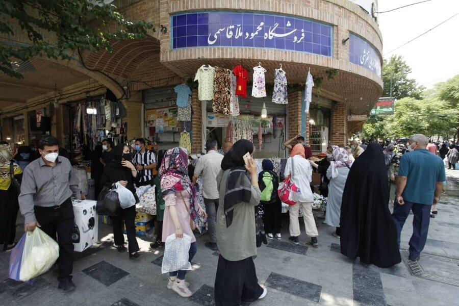تصاویر |  نخستین روز بازگشت کسبه و مردم به بازار تهران
