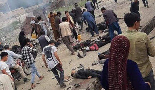 فیلم و عکس | ۳ انفجار در کابل ؛ ۲۵ تن کشته و ۵۲ نفر زخمی شدند