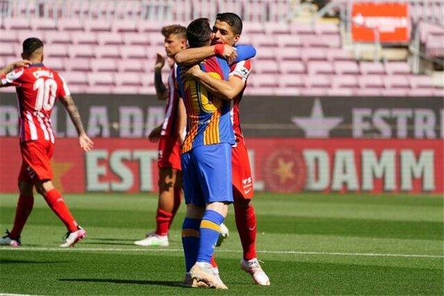 بارسلونا از جام دور شد | تساوی شاگردان کومان و سیمئونه به نفع کهکشانی ها!