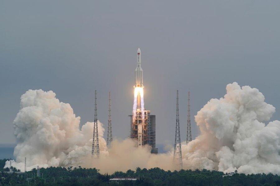 بقایای موشک چینی، کدام کشور فرود میآید؟