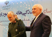 روایت ظریف از همکاری با سردار سلیمانی در زمان حمله آمریکا به عراق