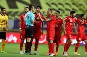 ویدئو | جنجال و دعوای عجیب بازیکنان پرسپولیس و سپاهان در پایان بازی