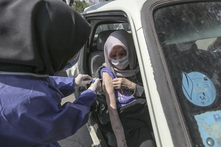واکسن در خودرو