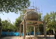 پیشرفت ۸۵درصدی سازه مقبره الشهدا