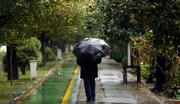 هشدار نارنجیرنگ هواشناسی؛ بارش شدید باران در ۸ استان
