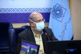 ویدئو| زالی: کاهش تعداد بیماران بستری در تهران