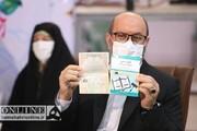 سومین سردار با کتاب قانون در انتخابات ثبت نام کرد
