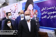 عکس | سردار دهقان و همسرش در ستاد انتخابات