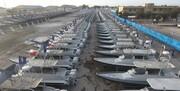 فیلم| رهگیری ناوگروه زیردریایی آمریکا توسط سپاه در خلیج فارس