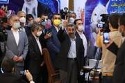 تصاویر | حضور محمود احمدینژاد در وزارت کشور