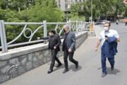 نیمی از خیابان شهرداری پیادهراه میشود