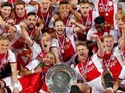 عکس | اقدام خاص باشگاه آژاکس | جام قهرمانی لیگ هلند ذوب میشود