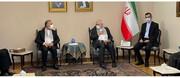 ویدئو | ظریف با چفیه با رهبران گروههای فلسطینی دیدار کرد