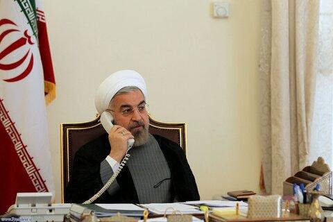 گفتوگوی تلفنی روحانی با اشرف غنی   حمله به دختران بیگناه کابل اقدام شیطانی بود   امنیت افغانستان را امنیت خودمان میدانیم