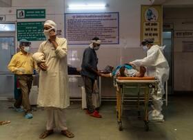 ۳۴۸۴۲۱ مورد ابتلا به کرونا فقط در یک روز در هند  شمار واقعی پنج تا ۱۰ برابر بیشتر است