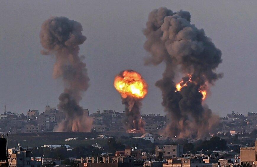 ویرانه های غزه