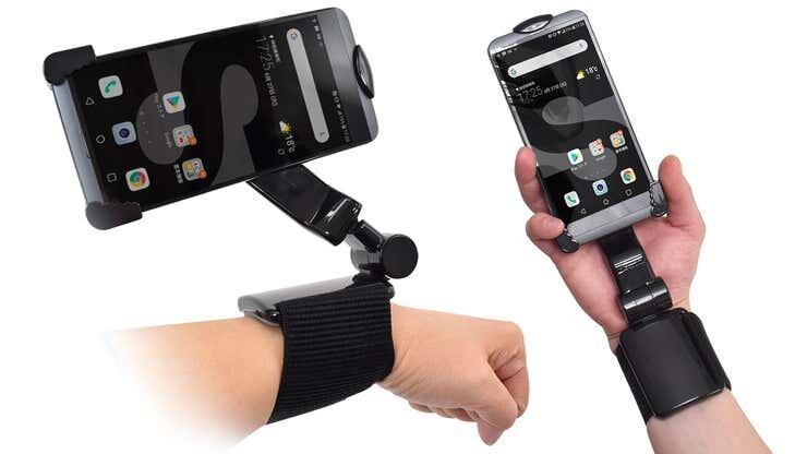 «دست سوم» برای نگهداشتن موبایل