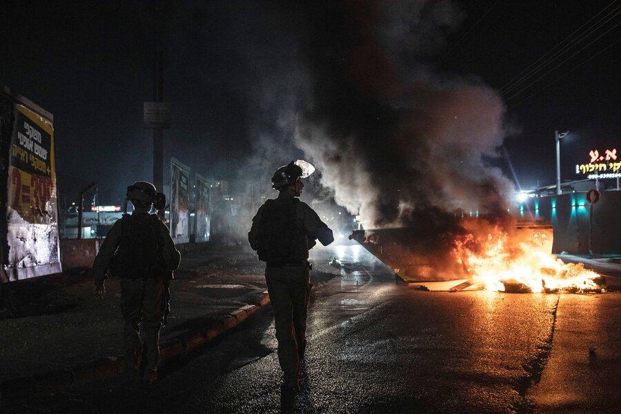 درگیری در اسرائیل